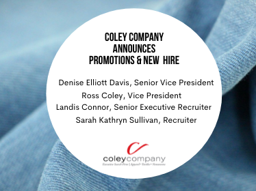 Coley Company Announces Promotions and New Hire